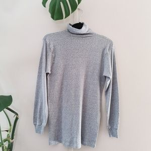 Stanfield's  Heather grey Turtleneck size M made in Canada